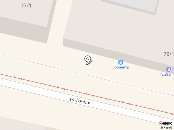 Элегант Дент на карте Краснодара