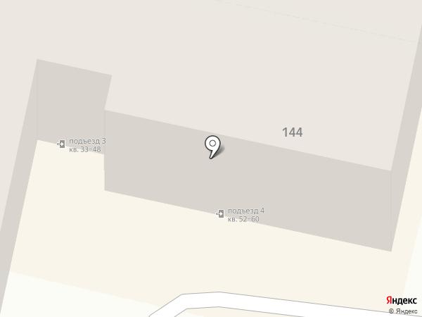 Матрёна на карте Краснодара