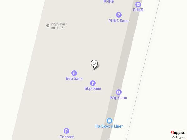 ББР банк на карте Краснодара
