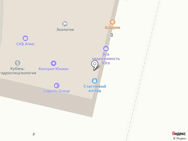 Бейрут на карте Краснодара