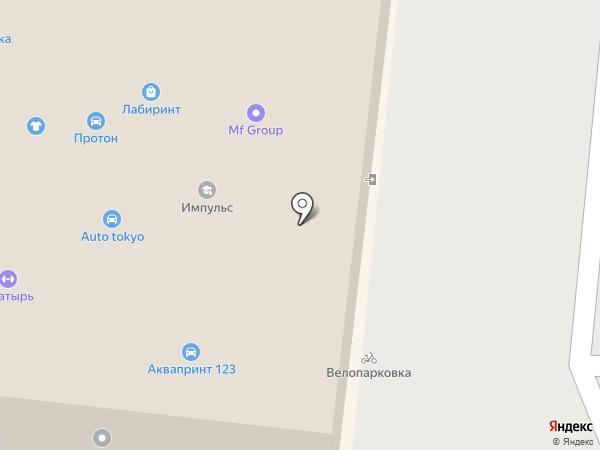 Центр йоги на карте Краснодара