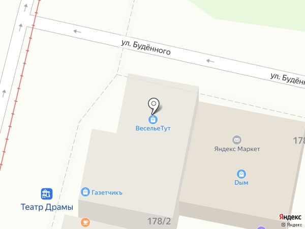 Мясокомбинат Александровский на карте Краснодара