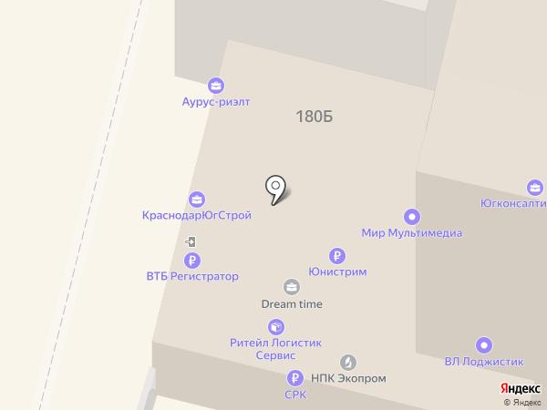 ИНЖБЮРО на карте Краснодара