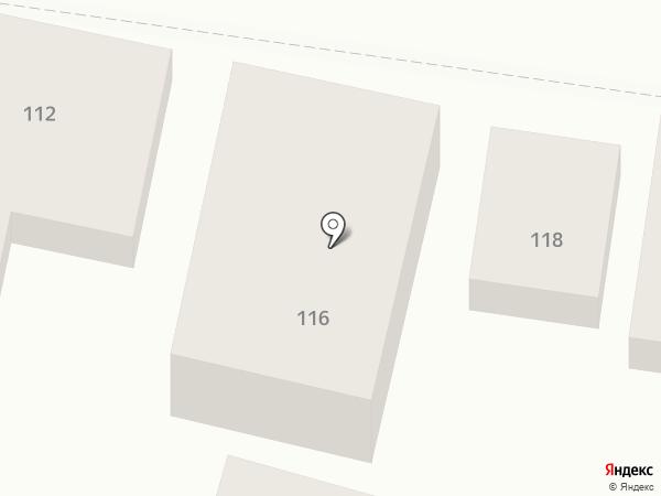 Притяжение на карте Краснодара