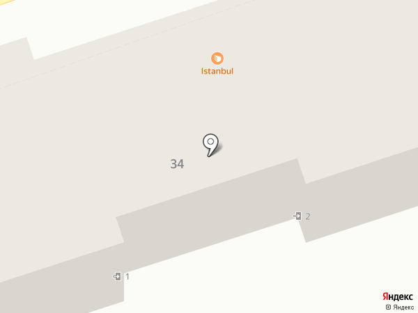 Сладкий дворик на карте Краснодара