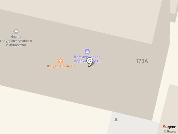 Женсовет на карте Краснодара