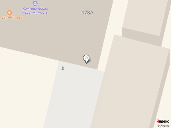 ПЕНСИОННЫЙ, КПК на карте Краснодара