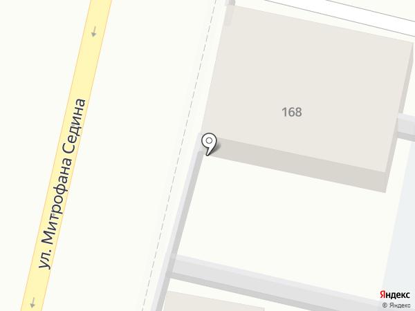 Автостоянка на карте Краснодара