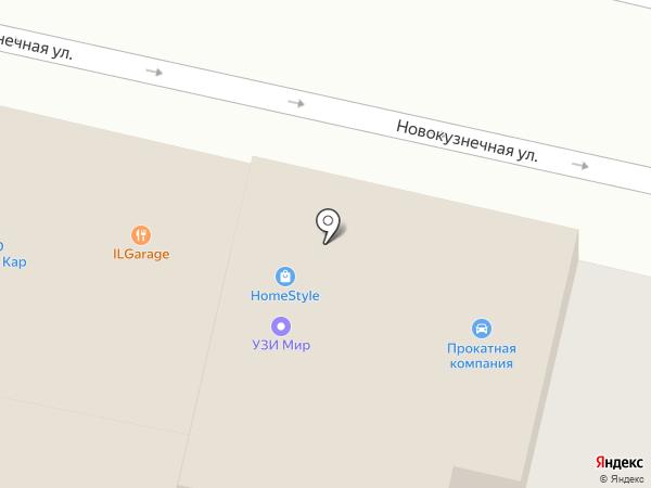 Алёнка на карте Краснодара