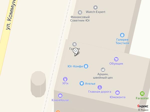Форвард Рус на карте Краснодара