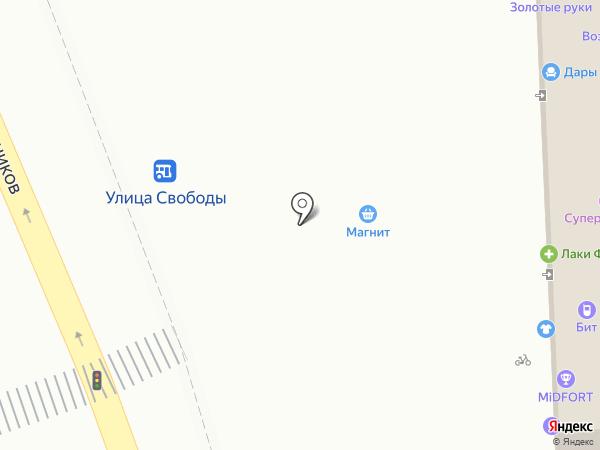 Шанс и К на карте Краснодара