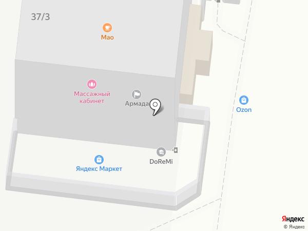 СоветникЪ на карте Краснодара