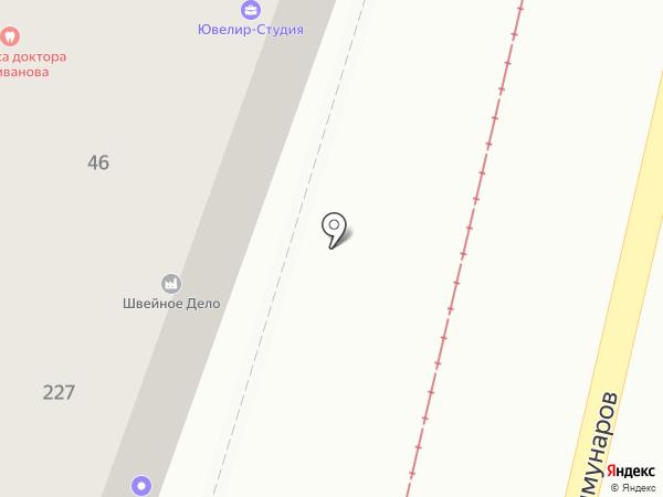Стиль-клуб на карте Краснодара