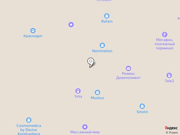 CharmCleo на карте Краснодара