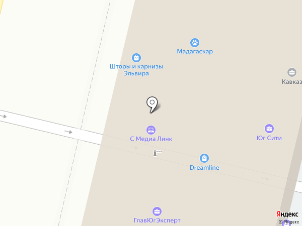 Центр новостроек на карте Краснодара