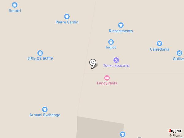 Студия маникюра Лены Лениной на карте Краснодара
