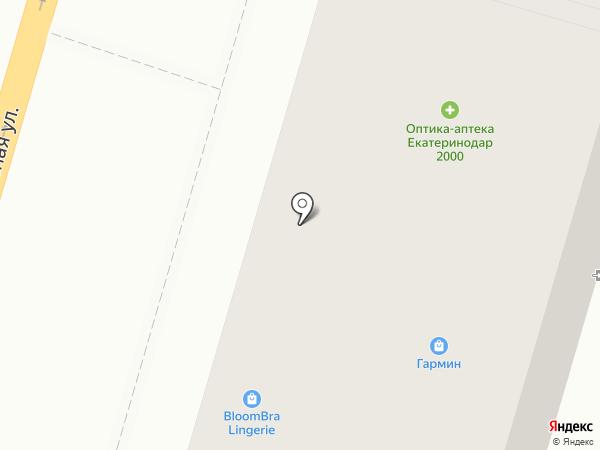 Modniza на карте Краснодара