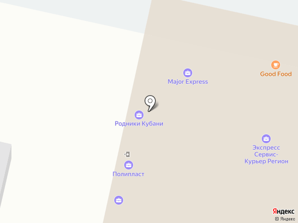 Garment school на карте Краснодара