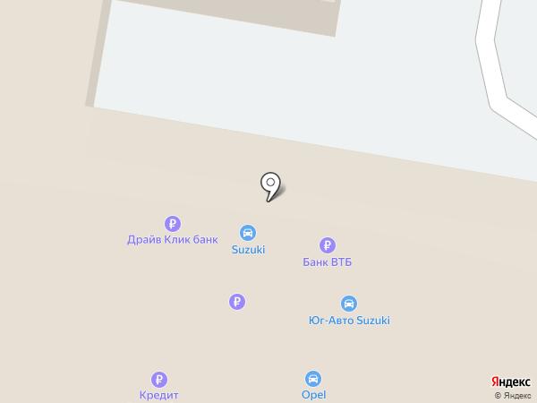Юг-Авто Холдинг на карте Краснодара