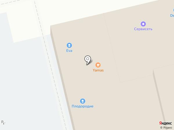 Армейский на карте Краснодара