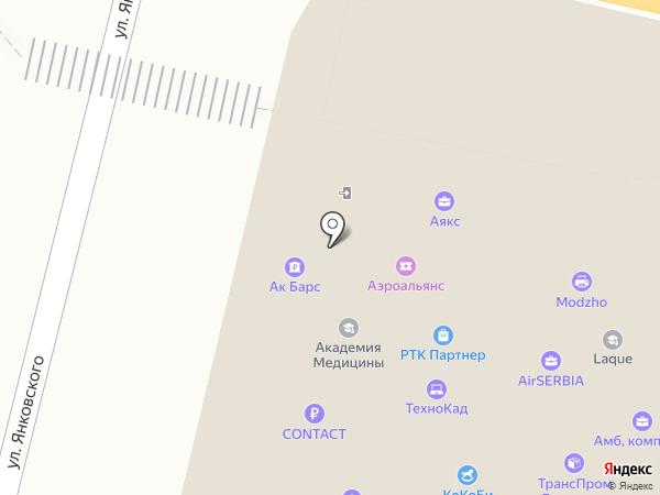 CreaLine на карте Краснодара