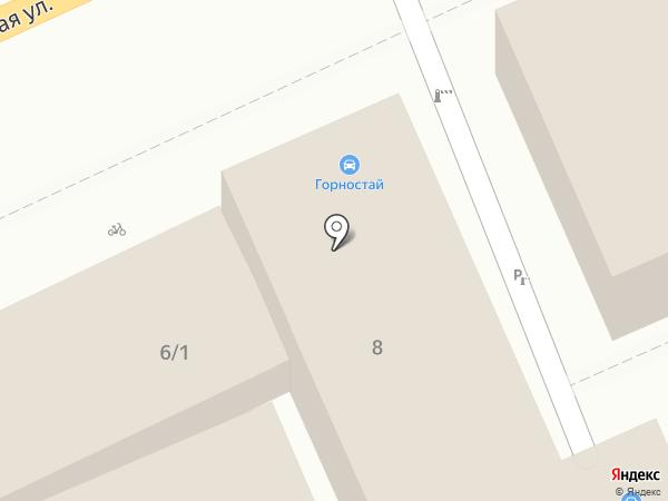 Абакан на карте Краснодара