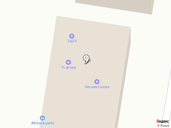 АБФ на карте Краснодара