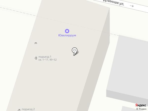Финансовый центр на карте Краснодара