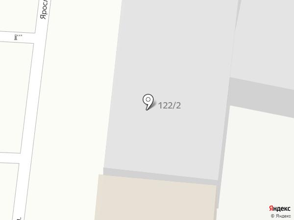 Виконт на карте Краснодара