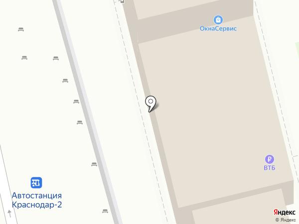 Мило-Славно на карте Краснодара