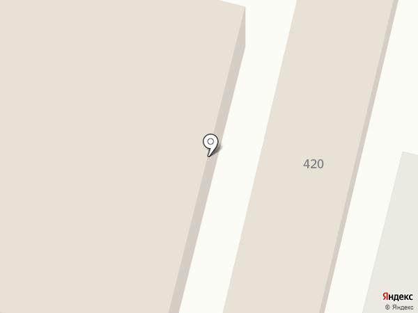 Автомойка на Северной на карте Краснодара