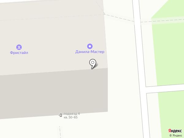 Данила-Мастер на карте Краснодара
