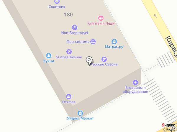 Мир Сна на карте Краснодара