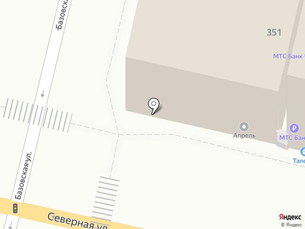PROванны на карте Краснодара