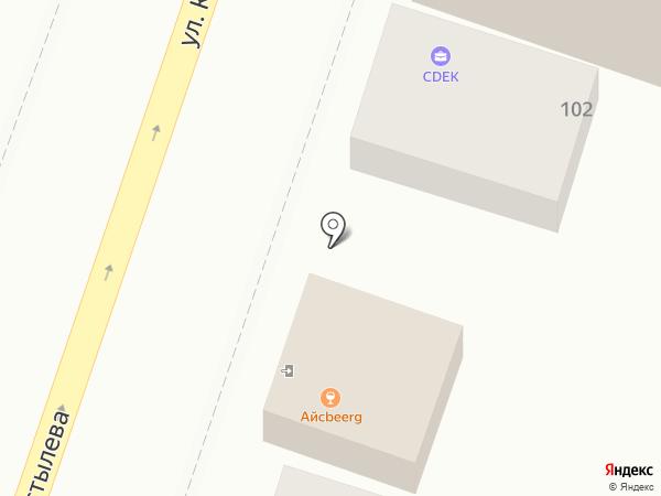 АЙСBEERG на карте Краснодара