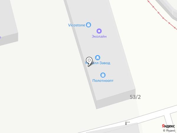 Аква-Партнер на карте Краснодара