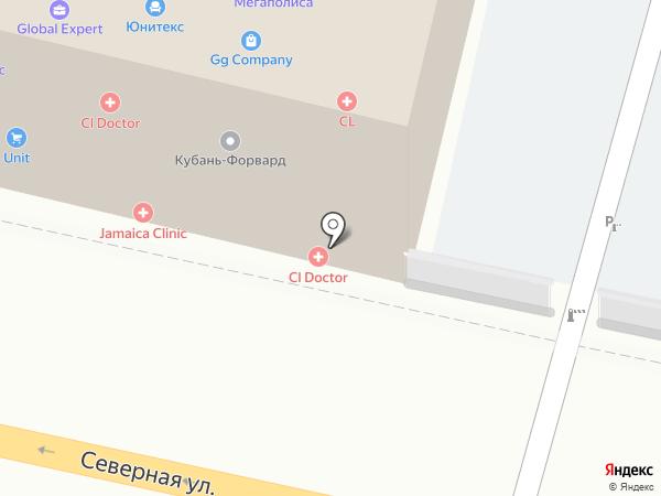 Beauty-L на карте Краснодара