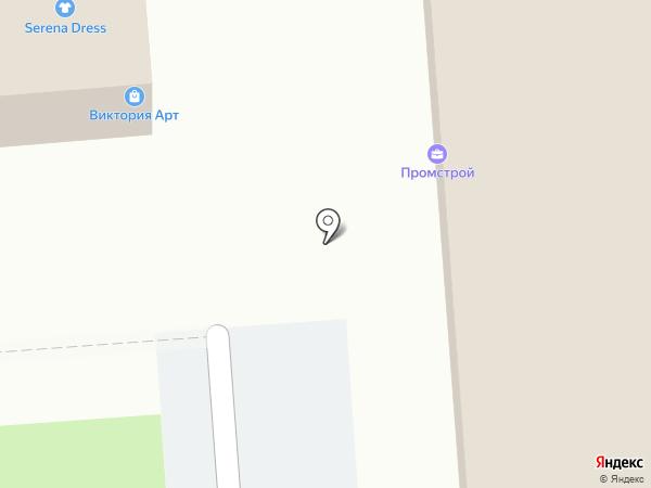 Виктория Арт на карте Краснодара