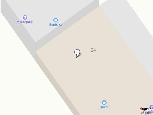 Дикси на карте Нового