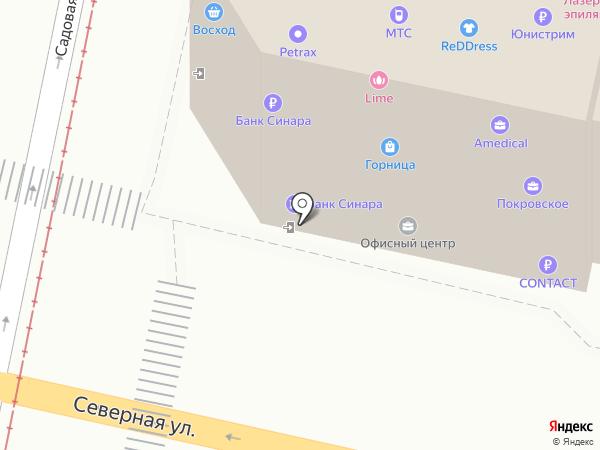 МТС на карте Краснодара