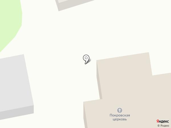 Храм Покрова Пресвятой Богородицы на карте Новотитаровской