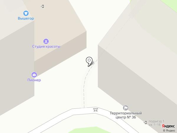 36 на карте Краснодара