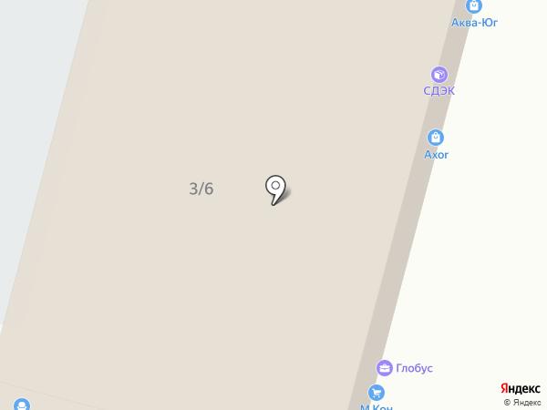 Русский фейерверк на карте Краснодара