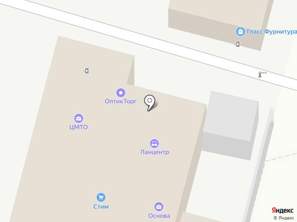 ОптикТорг на карте Краснодара