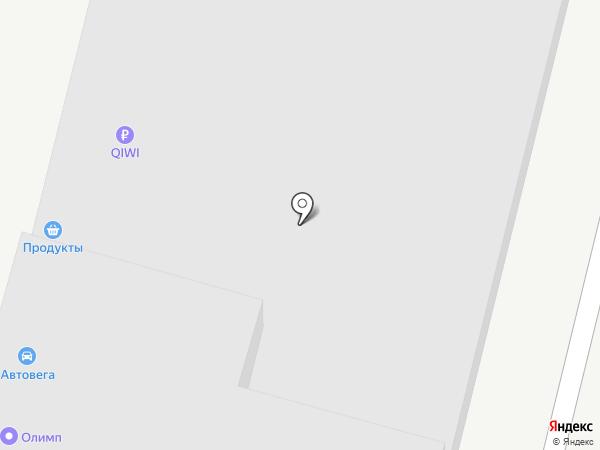 ОЛИМП-ЮГ на карте Краснодара
