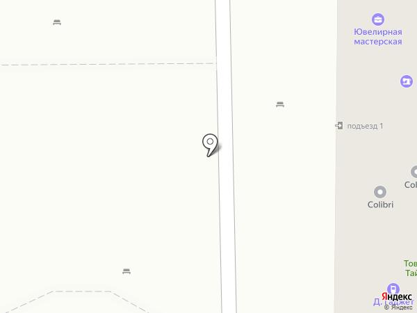 Золотой бык на карте Краснодара