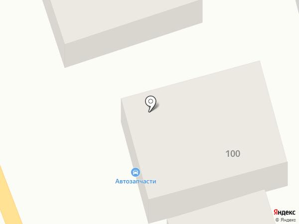 Магазин автозапчастей для Hyundai на карте Новотитаровской
