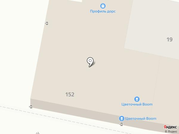 Комплекс Групп на карте Краснодара