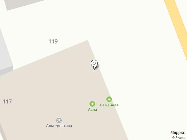 SOS на карте Новотитаровской
