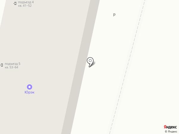 ЮРЭК на карте Краснодара